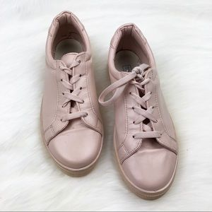 Topshop Pink Sneakers Size 7